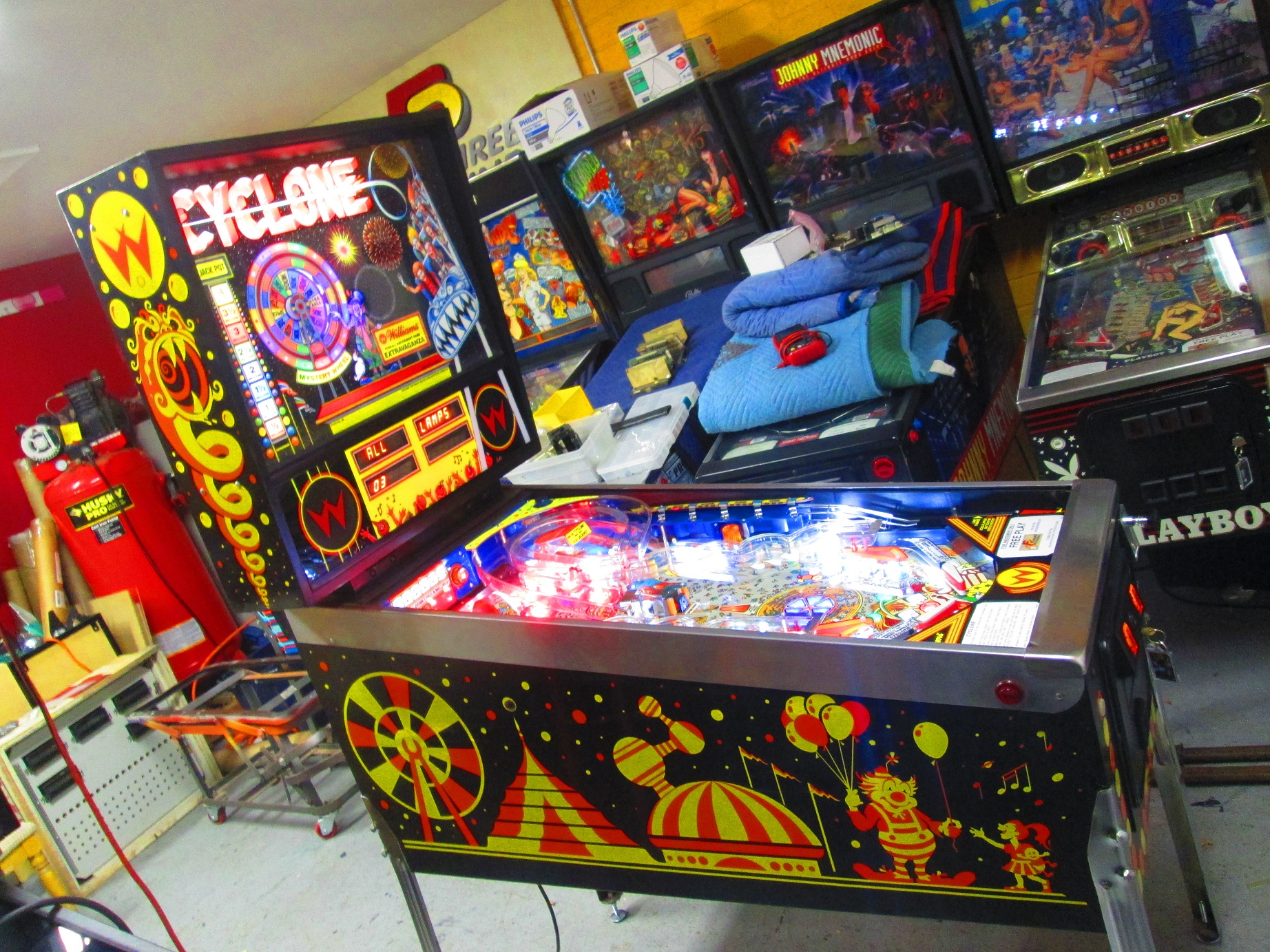 Image result for cyclone pinball