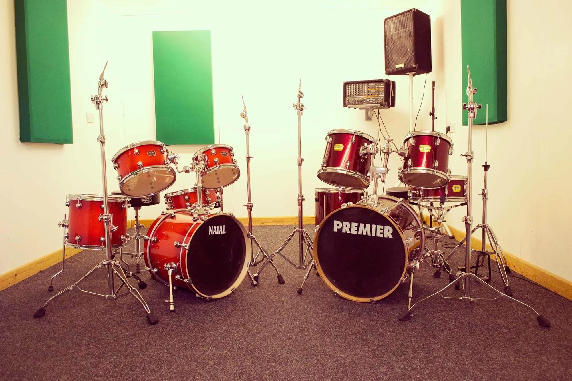 Saturday Music Club Drum Room