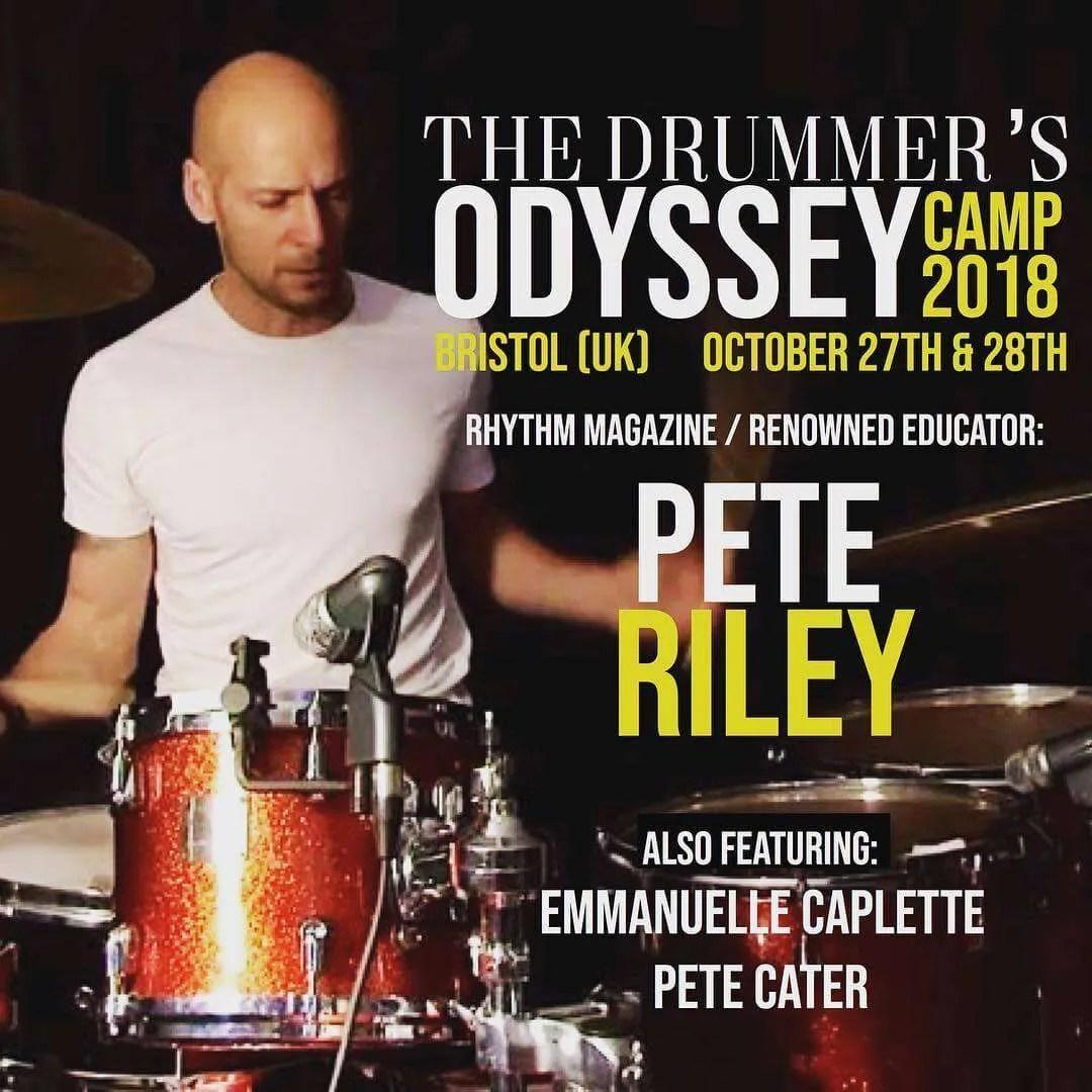 Pete Riley drummer