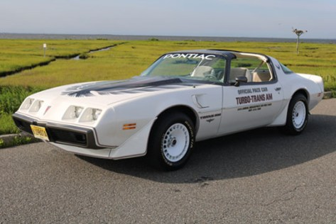 '80 turbo Trans Am Indy 500 pace car of Al and Patricia Dompieri of Forked River, New Jersey