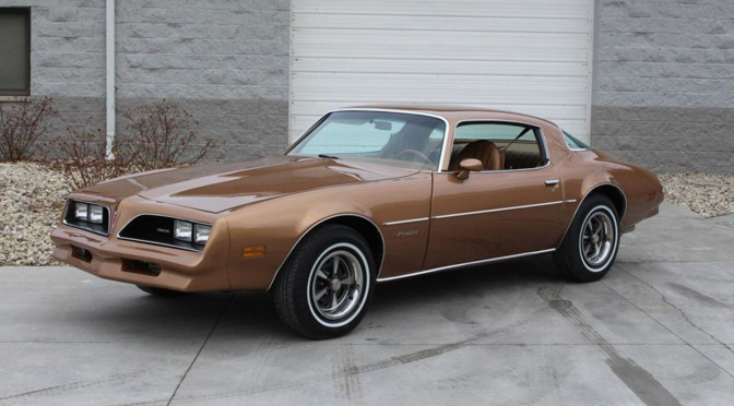 "James Garner's ""Rockford Files"" Pontiac Firebird is Crossing the Auction Block"
