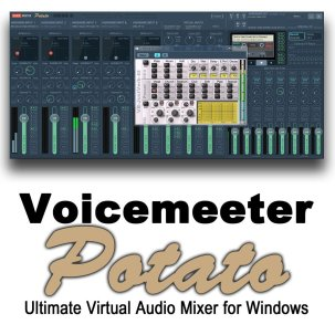 VoiceMeeter Potato 3.0.1.8 Crack + License Key Latest [2021]
