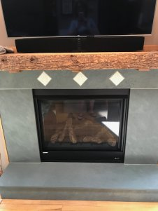 Close up of Fire Place