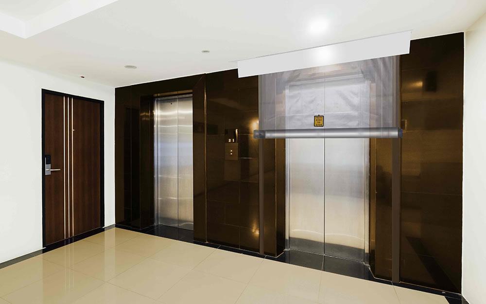 elevator smoke protection fire