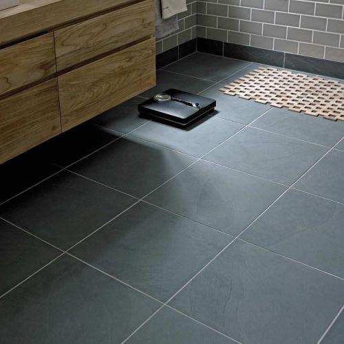 Urban slate badeværelse gulv