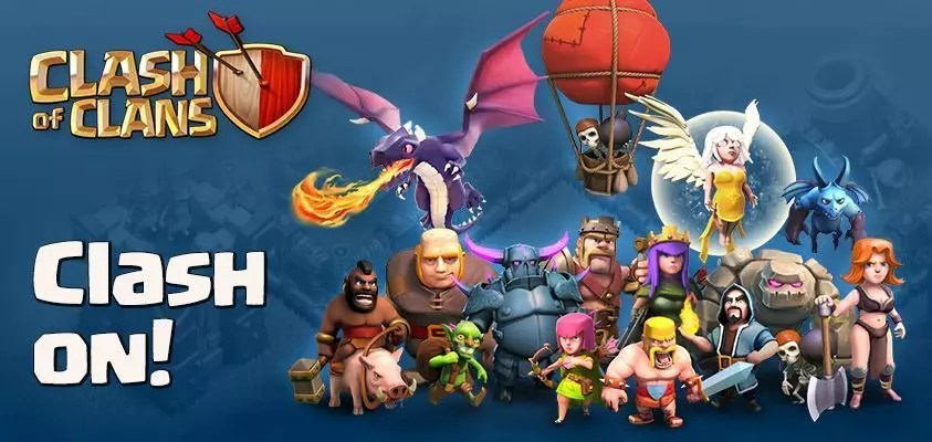 Clash of Clans APK Download Free For PC Android