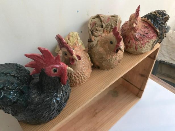 The flock produced in September's workshop