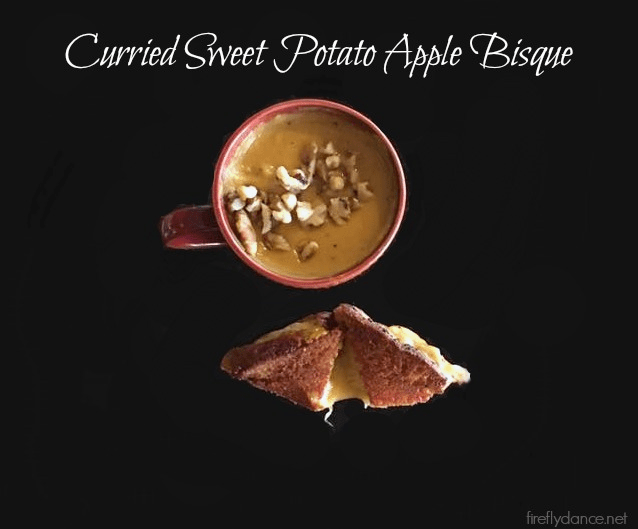Curried Sweet Potato and Apple Bisque