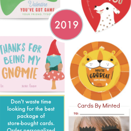 Minted 2019 V-day cards