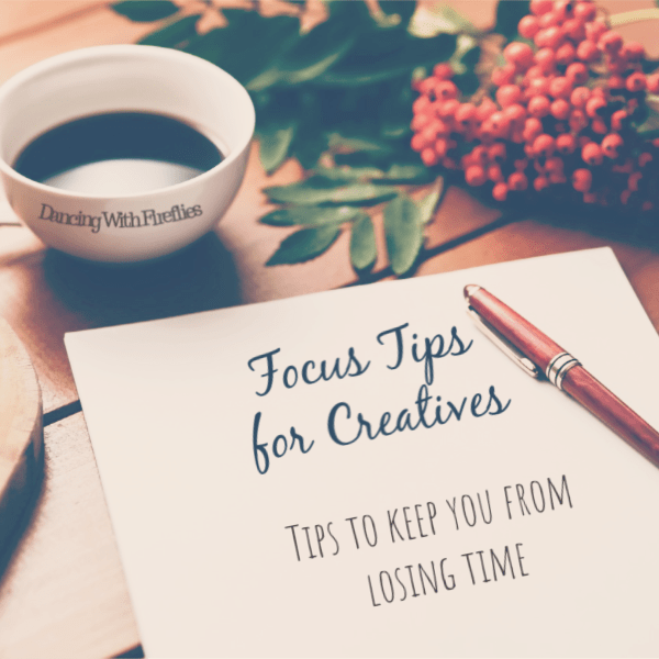 Focus tips for creatives