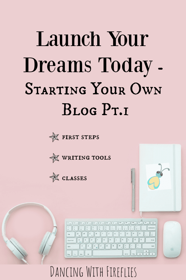 starting your own blog - the baby steps
