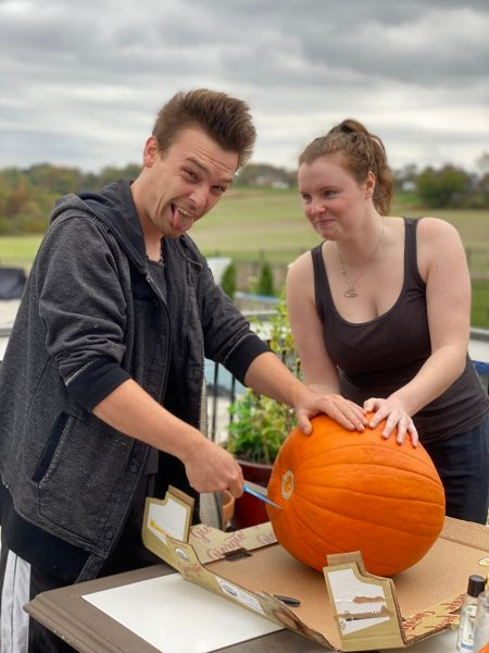 Mike and Kate- pumpkins