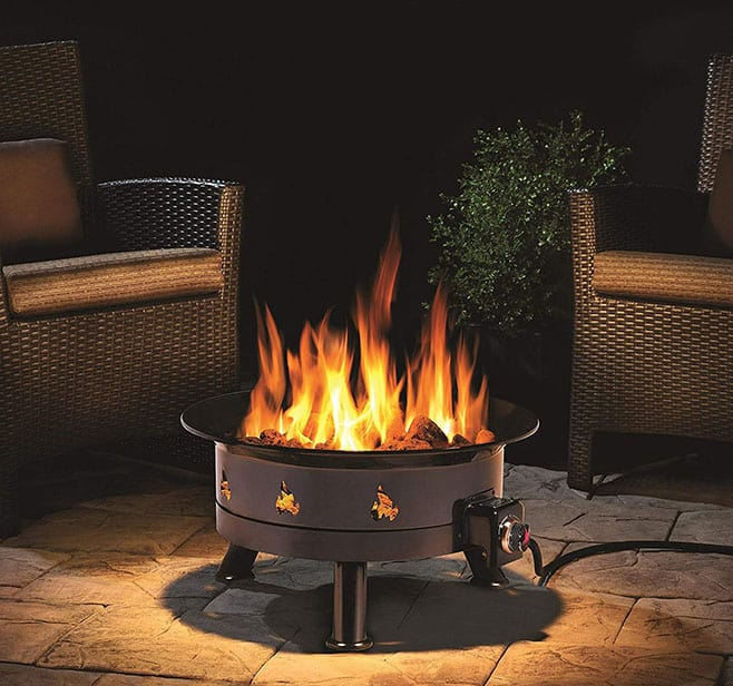 Outland Firebowl 883 Mega Outdoor Propane Gas Fire Pit Review on Outland Gas Fire Pit id=98850
