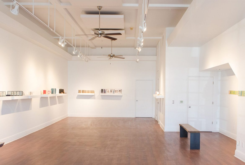 Firehouse Art Center Main Gallery Book Arts Exhibit 2020