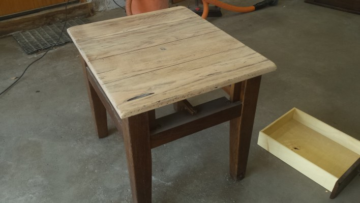End table after picture