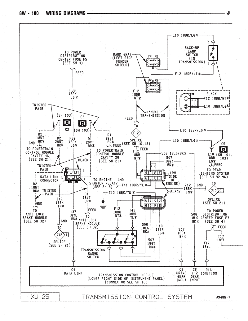 Equalizer Wiring Diagram For 2006 Ford Crown Victoria 53 1996 94xj 8w2 2011