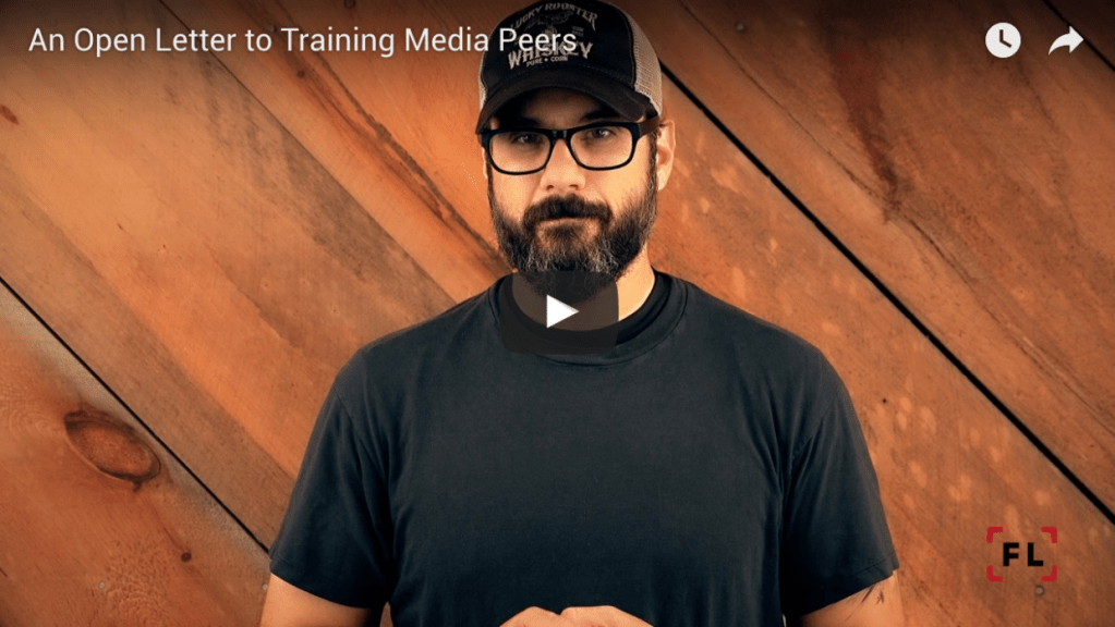 An Open Letter to Training Media Peers 1 - Firearms Photographer | Firelance Media