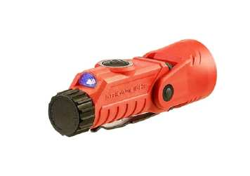 Vantage 180 Helmet-Right Angle Milti-Function LED Flashlight_orange