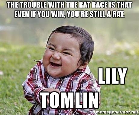 Erkennen dat je in de Rat Race zit