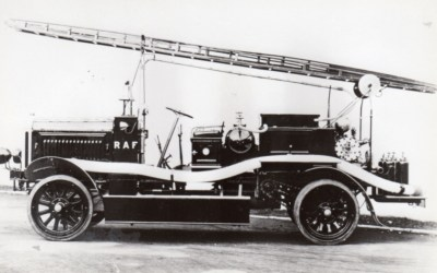 New Pages – History of the RAF Firefighter