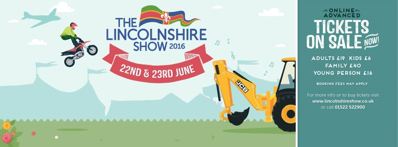 Lincolnshire Show – Come and see us
