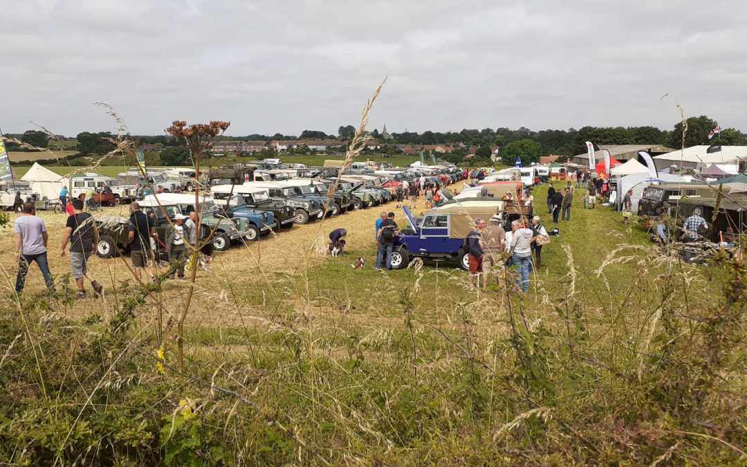 First Day of the Classic Land Rover Gathering