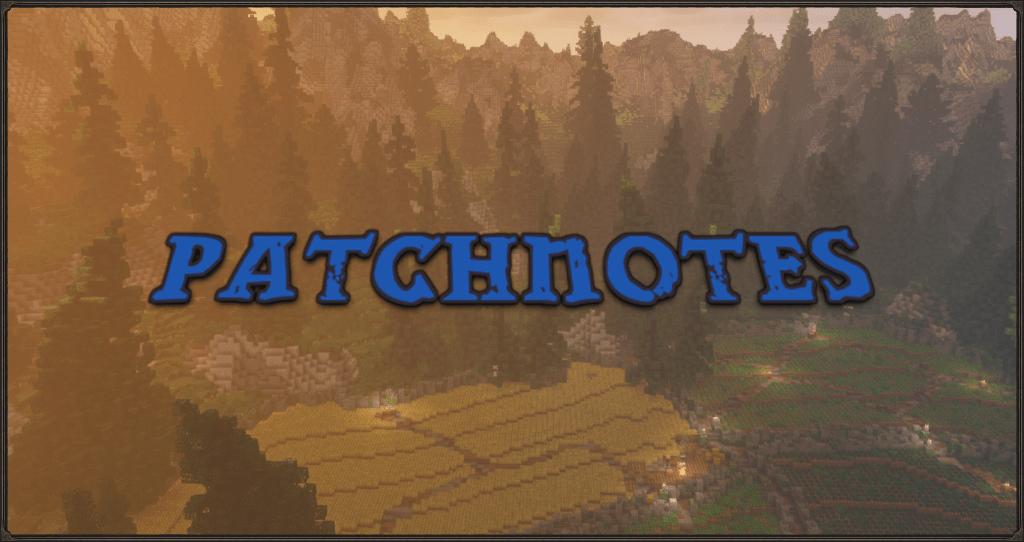 Patchnotes 11.10.2021 #1