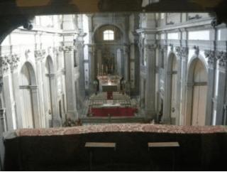 ヴァザーリの回廊から見た主祭壇