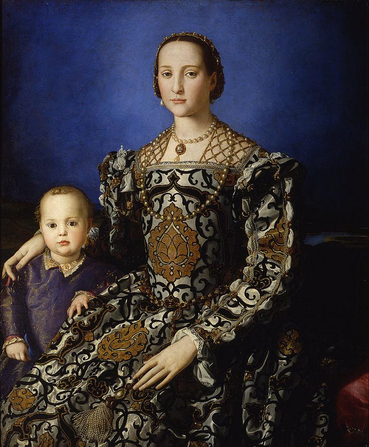 コジモ1世の息子ジョヴァンニの肖像 アニョロ・ブロンズィーノ, 1544 ウフィツィ美術館, フィレンツェ