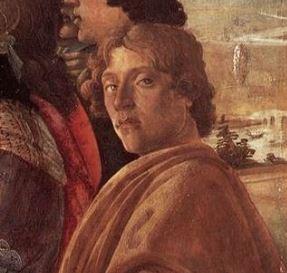 ボッティチェリ 自画像