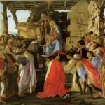 ボッティチェリの「東方三博士の礼拝」が表す、エピファニア(公現祭)の世界観。