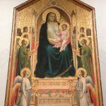 荘厳の聖母(オンニッサンティの聖母) ジョット・ディ・ボンドーネ, 1310頃 ウフィツィ美術館, フィレンツェ