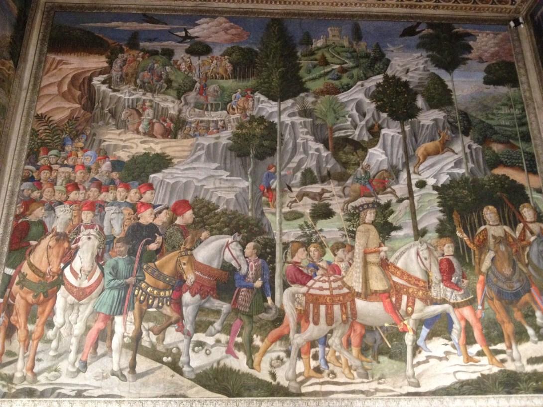 東方三博士の旅 ベノッツォ・ゴッツォリ, 1459 メディチ・リッカルディ宮殿, フィレンツェ