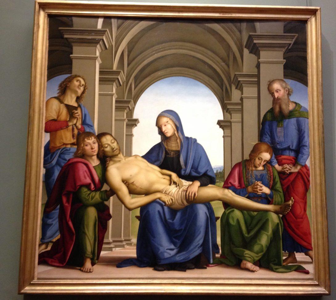 ピエタ ピエトロ・ペルジーノ, 1493-94頃 ウフィツィ美術館, フィレンツェ