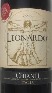 Leonardo CHIANTI 2010 CANTINE LEONARDO DA VINCI