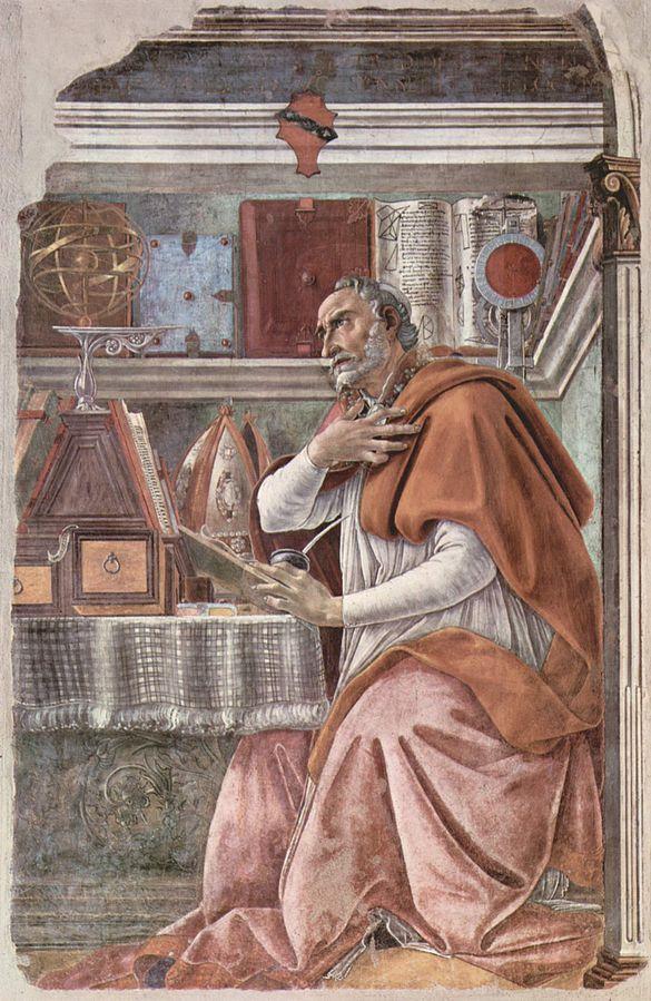 書斎の聖アゴスティーノ