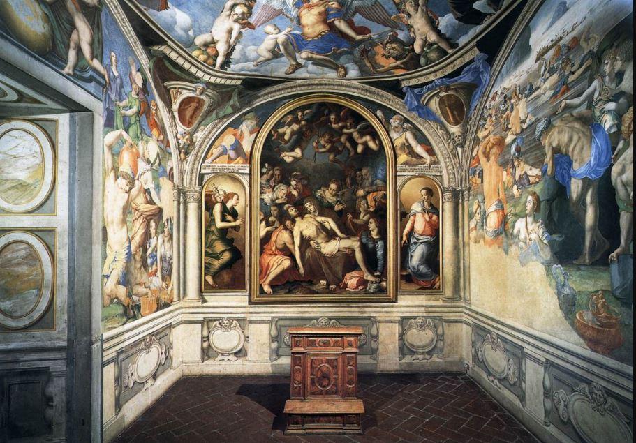 エレオノーラの礼拝堂 アニョロ・ブロンズィーノ, 1540-45 ヴェッキオ宮殿, フィレンツェ