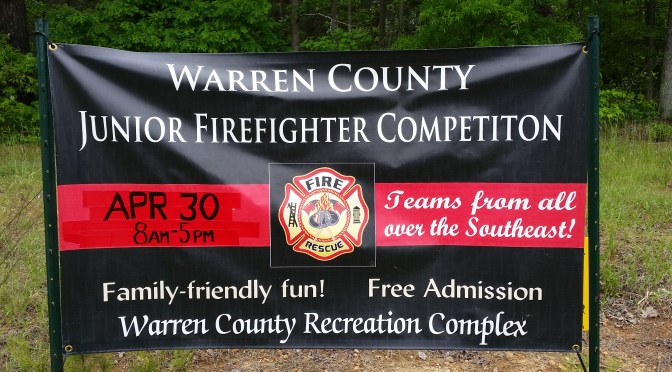 Warren County Junior Firefighter Competition