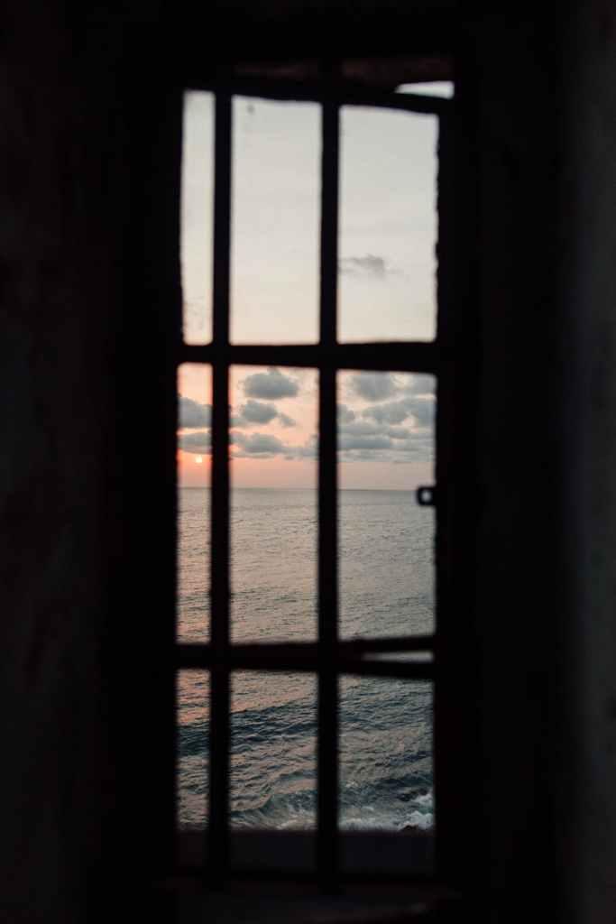 silhouette of window