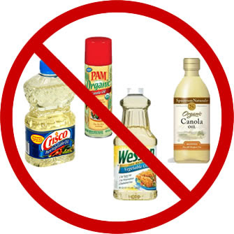 no more vegetable oils