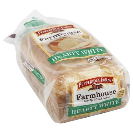 Pepperidge Farm white bread