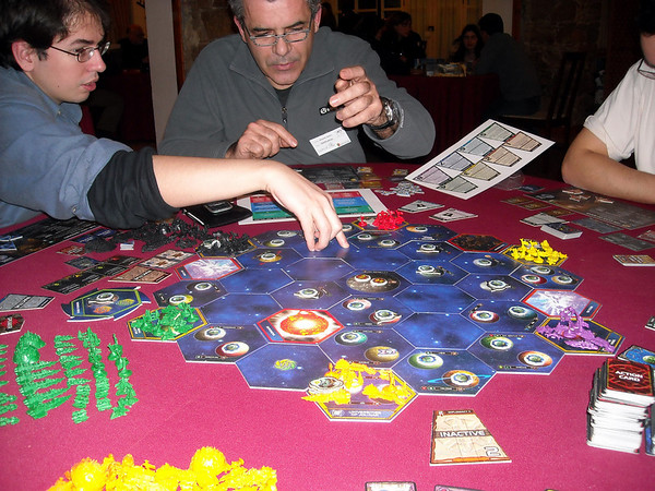 Twilight Imperium 3rd Edition @ LeiriaCON2009
