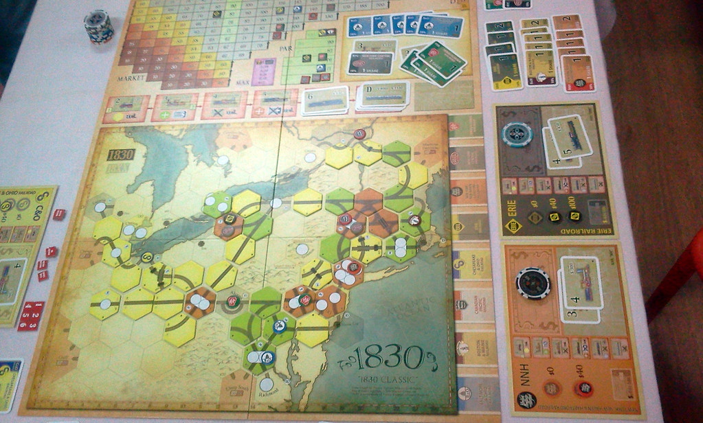 1830: Railways & Robber Barons with 4 players