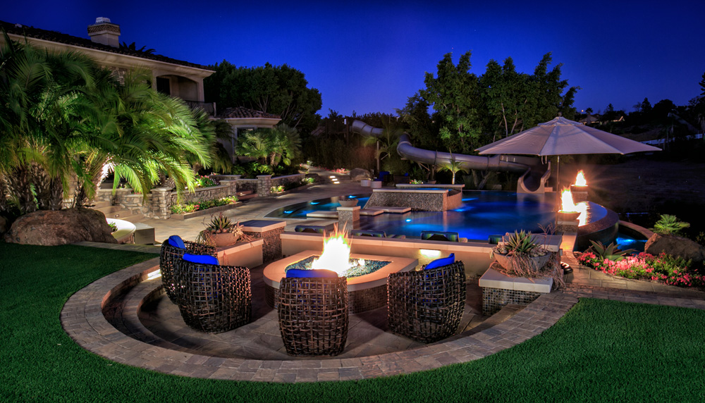13 Outdoor Fire Pit Landscaping Ideas For Your Backyard ... on Garden Ideas With Fire Pit id=28198