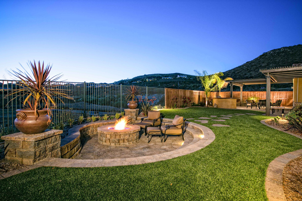 13 Outdoor Fire Pit Landscaping Ideas For Your Backyard ... on Garden Ideas With Fire Pit id=92966