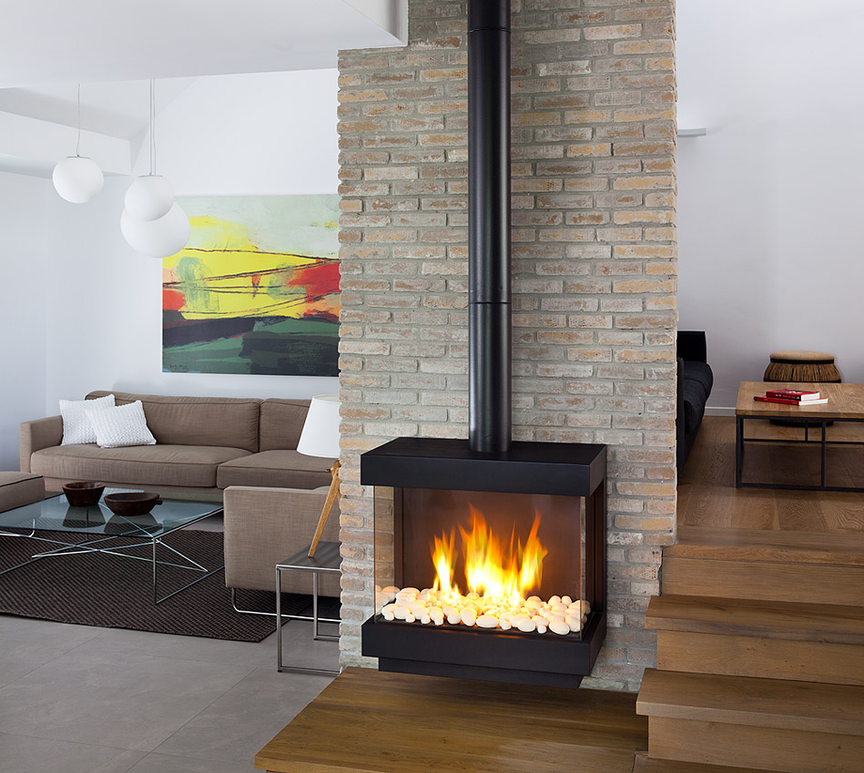 gas fireplaces convenient safe and clean the fireplace pros