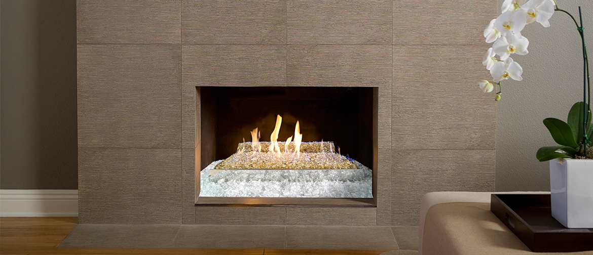 Real Fyre Non Vented Fireplace Gas Logs Offer Charm Of Wood Fire