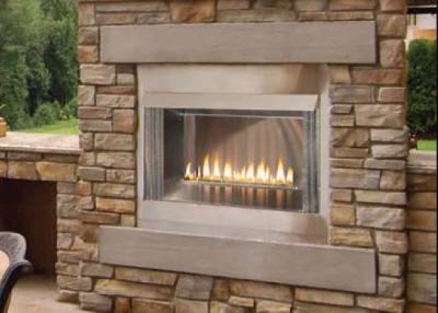 Discount Empire Outdoor Stainless Premium Firebox, 36-inch ... on Quillen Steel Outdoor Fireplace id=45575