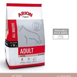 Arion Original Active Hundefoder - Med Kylling og Ris - 12kg