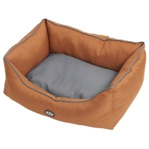 BUSTER Sofaseng, Leather Brown/Steel Grey